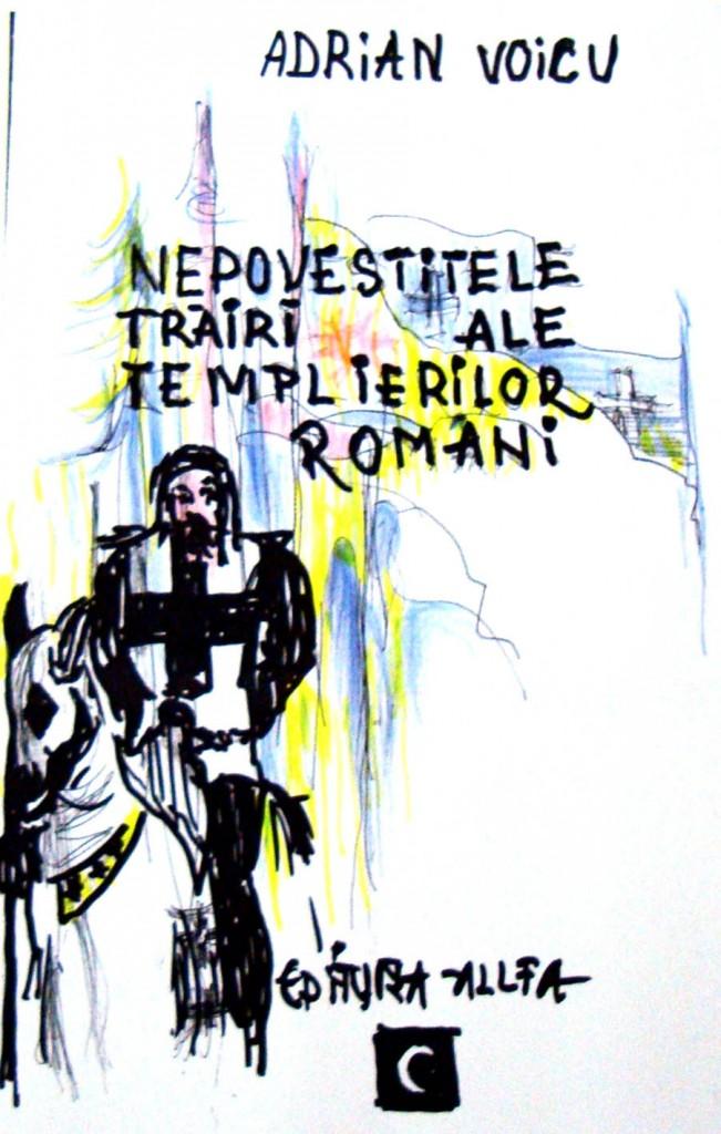 Coperta Templieri Margot Carageani