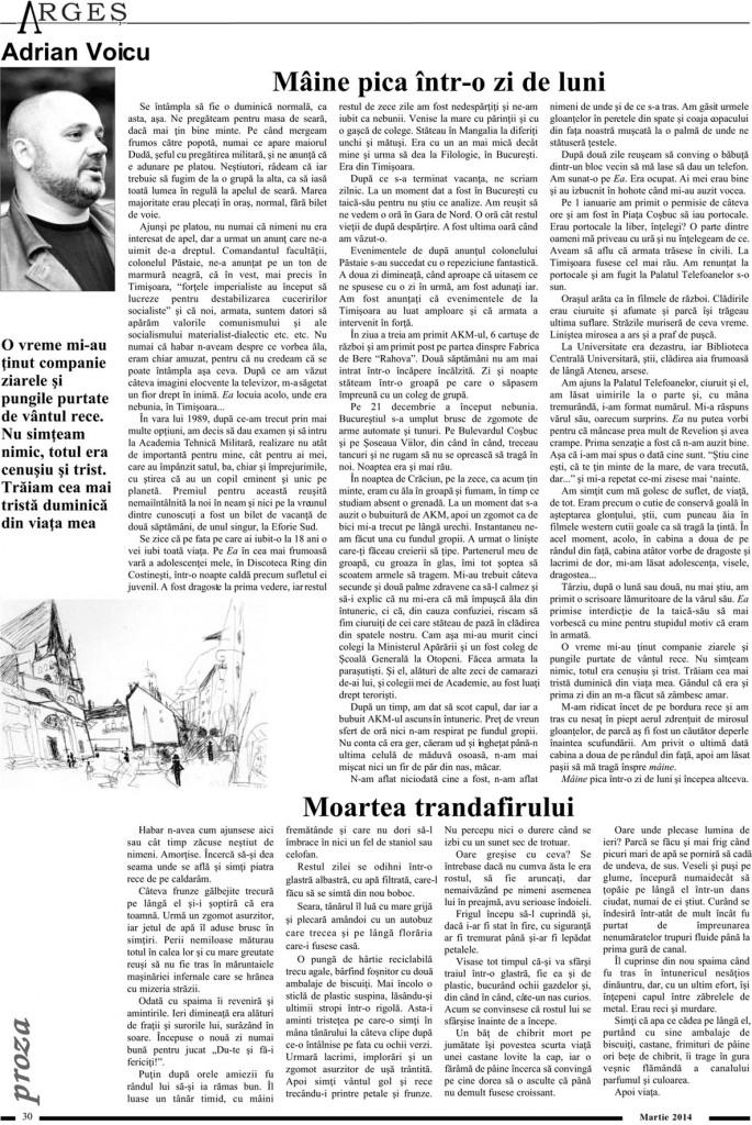 Revista Arges Martie 2014 - Pag. 30